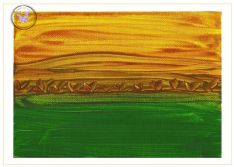 Art Greeting Card - Golden Harvest